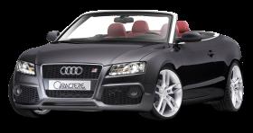 Audi A5 CABRIO Black Car PNG
