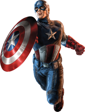 Avengers Captain America PNG