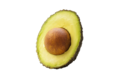 Halved Avocado PNG