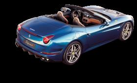 Back View of Ferrari California T Car PNG