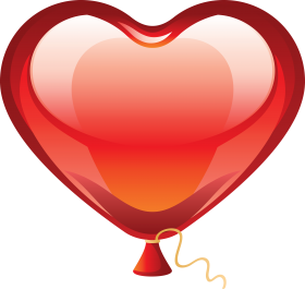 Heart Love Balloon PNG