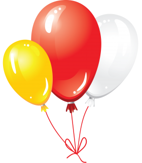 Balloons Decoration PNG