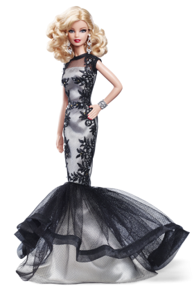 Barbie  Doll Evening Gown PNG