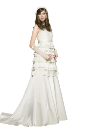 Beatiful Pregnant Bride PNG