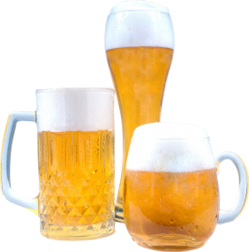 Beermugs multiple sizes PNG