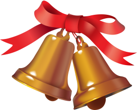 Ringing Christmas Bell PNG