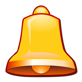 Bell Golden PNG