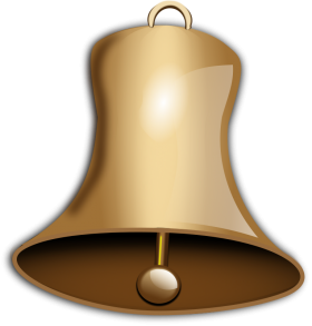 Golden Bell PNG