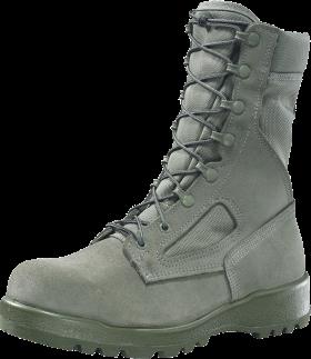 Belleville Sage Green Boots PNG