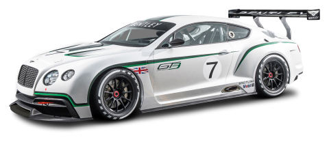 Bentley Continental GT3 R Race Car PNG