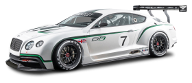 Bentley Continental GT3 R Race Car PNG