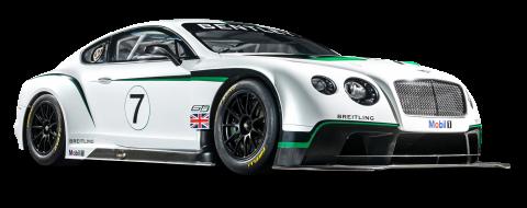 Bentley Continental GT3 R Racing Car PNG