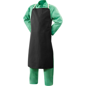 Bib Apron With Shoulder And Waist Straps PNG