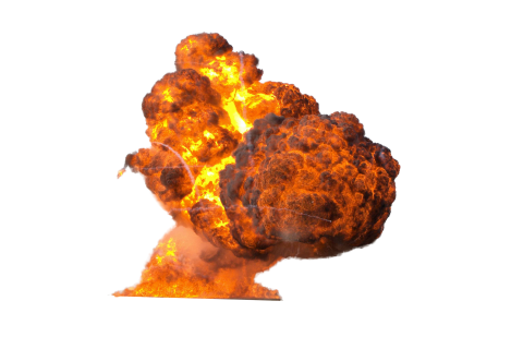 Big Explosion PNG PNG