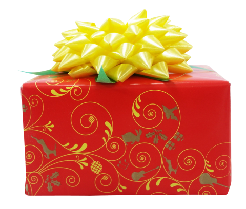Red Gift Box PNG