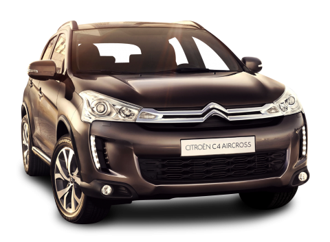 Black Citroen C4 Aircross Car PNG