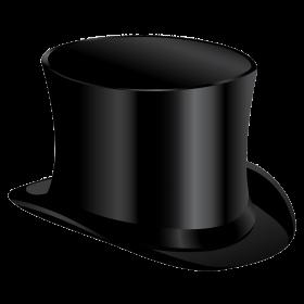 Black Cylinder Hat PNG