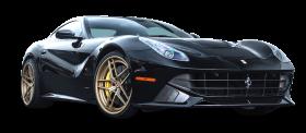 Black Ferrari F12 Berlinetta Car PNG