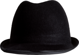 Black hat PNG
