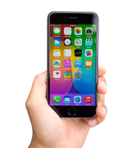 Black iPhone PNG