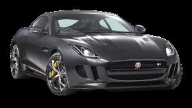Black Jaguar F TYPE Coupe Car PNG