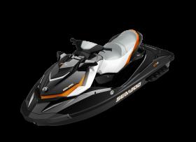 Black Jet Ski PNG