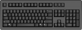 Black Keyboard PNG