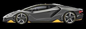 Black Lamborghini Centenario LP 770 4 Car PNG