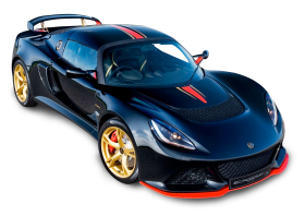 Black Lotus Exige LF1 Car PNG