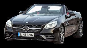 Black Mercedes AMG SLC 43 Car PNG