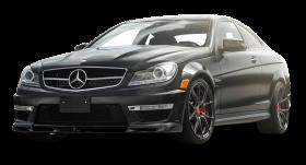 Black Mercedes Benz C63 AMG Car PNG