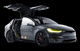 Black Model X Tesla Motors Modern Car PNG