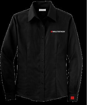 Black Multistack Dress Shirt PNG