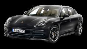 Black Porsche Panamera Car PNG