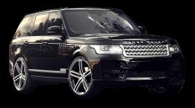 Black Range Rover Piano Car PNG