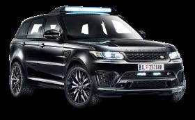 Black Range Rover Sport Car PNG