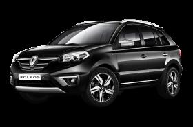 Black Renault Koleos Car PNG