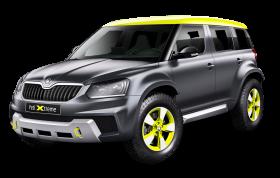 Black Skoda Yeti Xtreme Car PNG
