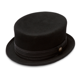 Black Small Hat PNG