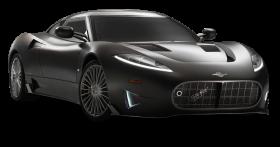 Black Spyker C8 Preliator Car PNG