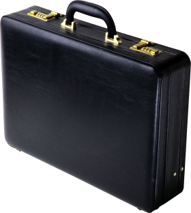 Black Suitcase PNG