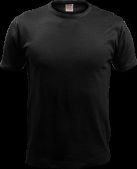 Black T-Shirt PNG