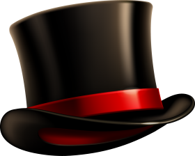 Black Top Hat PNG