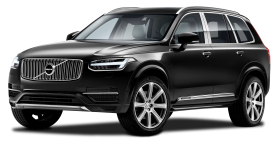 Black Volvo XC90 Excellence Car PNG