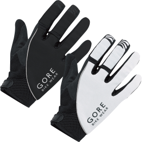 Black & White Gloves PNG