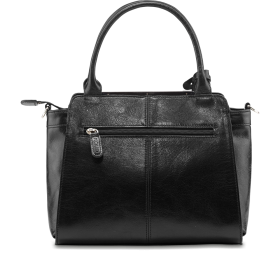 Black Women Bag PNG