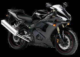 Black Yamaha YZF R6 PNG