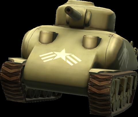 Blitz Brigarde Tank PNG