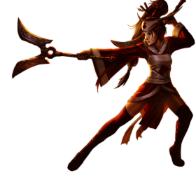 Blood Moon Akali Old PNG