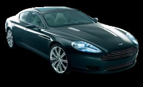 Blue Aston Martin Rapide Car PNG